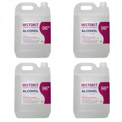 Pack X4 Alcohol 96 5 litros