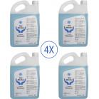 PACK 4 x Gel hidroalcohólico 5L aroma fresco. Para manos, desinfección e hidratación garantizada