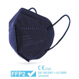 Mascarilla FFP2 AZUL - Caja 25 uds