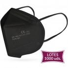 Lote 1000 UDS Mascarilla FFP2 Negra 0,40€/UD