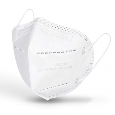 Mascarilla FFP2 - Caja 10 uds Blanca