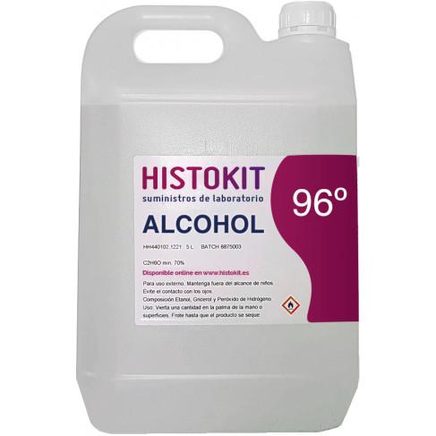 Alcohol 96 vol. 5 litros